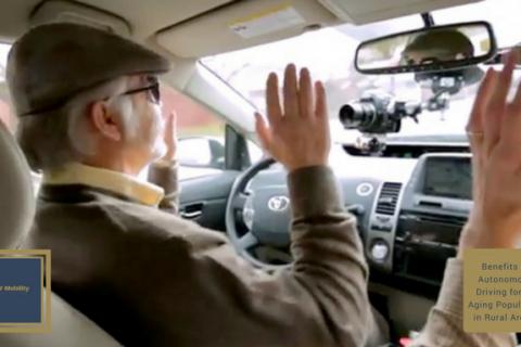mayores y los beneficios de la conducción autónoma