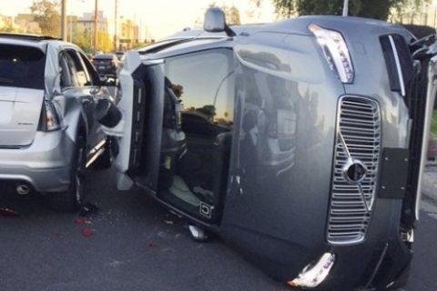 Imagen accidente - seguridad de los vehículos autónomos
