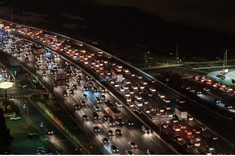 Atascos, coches, ciudades, trafico, circulación